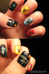 to boldly go nails by xtheungodx