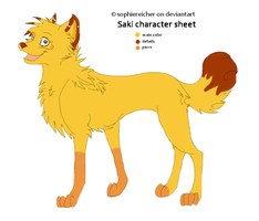 Saki - character sheet by SophieReicher
