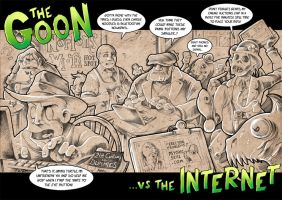 The Goon vs the Internet! by DarkJimbo