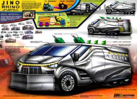 Jino Motors Water Caanon Vehicle Design Concept by toyonda