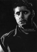 Jensen Ackles as Dean Winchester by Ilojleen