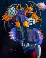 Unicron by DigitalSerrano