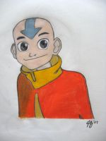 Avatar Aang by panhead121