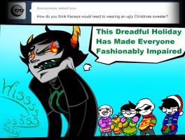 Ask John Egbert 63 by LeijonNepeta