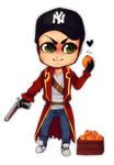 Chibi Commission - Jimster by Donnis