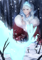 Merry Christmas 2014 to Vivi by Michikoreto