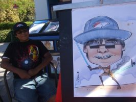 kid caricature by marcocano