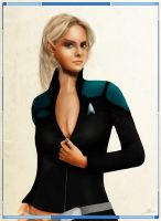 Star Trek Online character by Gen00b