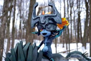 Midna Papercraft Detail by studioofmm