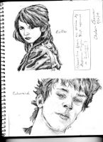 Bella and Edward by odes-to-no-one