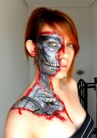 Robot inside me Make up by Arisusandasu