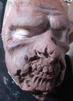 Zombie Prosthetic Sculpt by PlaceboFX