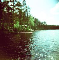 Swimming in Sweden by Damaged666