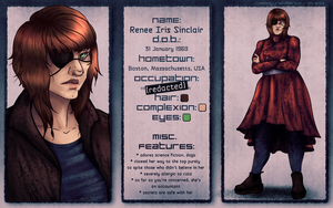 Character Sheet: Renee by cosmogyral-delirium