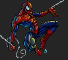 Spidey by RedHeretic