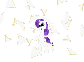 Rarity's Adoring Fans! by JD-Deviations