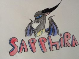 :AT: sapphire by mysterydragoness