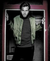 Ewan McGregor c.s. door by grillchen9972