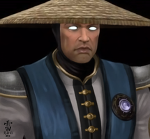 --LORD RAIDEN -- +PAINTING+ by xxCuteEmmyxx