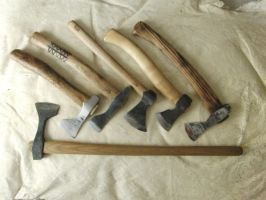 Axes.. by RMikkE