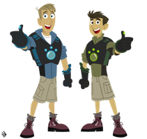 WK- Wild Kratts by TrishaBeakens