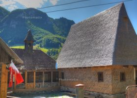 Traditional house in Apuseni Mountains by lumixdmc850