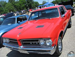 Red Pontiac GTO by Koenken