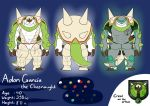 (com) Adon Garcia Full Reference Sheet by Gdgreat by brawl9977