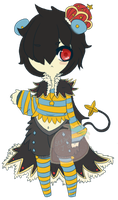Luxray Prince Custom Adoptable by StrawberriesJam