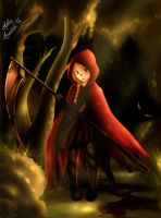 Red riding hood by MuffinMonstah