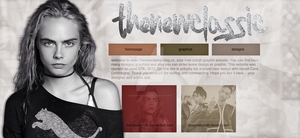 design version no.18 with Cara Delevingne (header) by designsbyroth