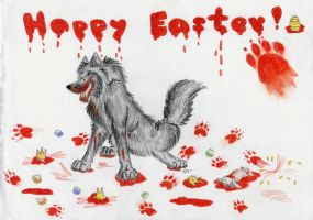 Happy Easter by Vlcek