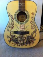 Custom Guitar by lavandulae