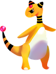 Ampharos by awokenbyacloud