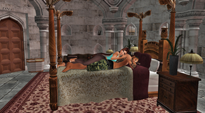 IMVU/XNA: Rell-Lara_Time for a lil nap by Krypto4CatSuits