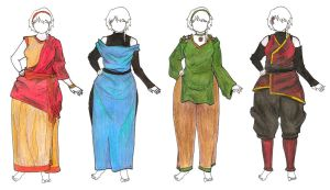 Bender Outfit Designs by Hot-Gothics