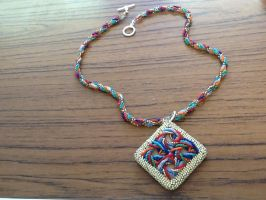 Pure math and necklace commission finished! by Jessicapilot901
