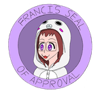 Francis seal of approval by limaneko