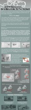 How to Make a CG Shot: Part 2, the Storyboard by harroldsheep