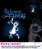 Woot Shirt - It's SCIENCE TIME by fablefire