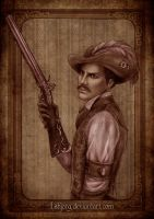 Gunslinger by Isbjorg