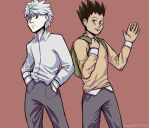 Gon And Killua Go To School by Just-Me143