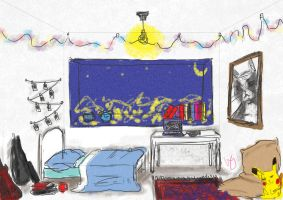 My room-to-be. by Magshire