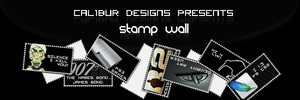 Stamp Wall by CaL1BuR