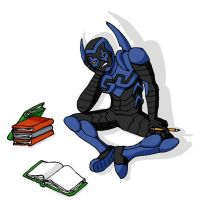 Blue Beetle Homework by neverarguewithafish