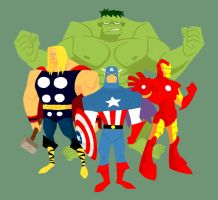 Avengers Animated by EdQuah