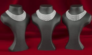 Parametric Fashion Necklaces by LuxXeon