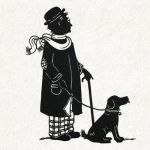 Mr. Harris and Churchill by PaperTales