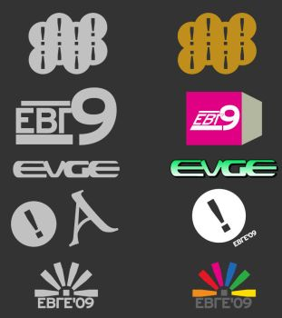 Evge Channels Logos by sergiokomic