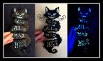 Cheshire Cat Typography by tyleramato